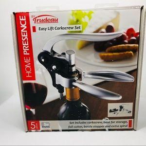 Tradeau Dining - Trudeau EasyLift Corkscrew Wine Opener5 Pieces Set